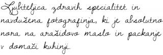Opis Nataša Ravnikar